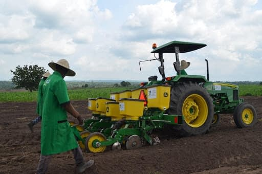 Use of Mechanized Farming at Xtreme Returns Farms