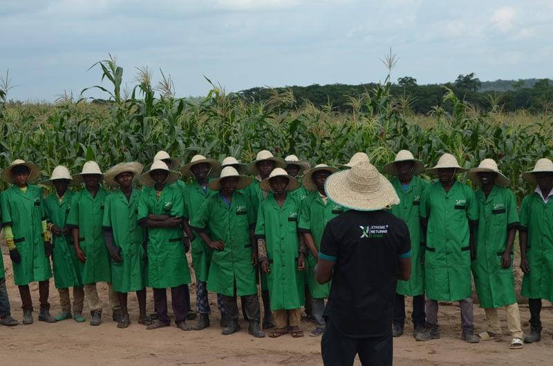 Training at Xtreme Returns Farms